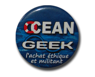 Badge Ocean Geek 1