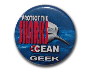 Badge Protect The Sharks
